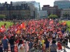 Unifor Marches On Parliament Hill